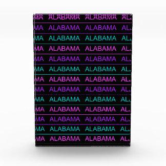 Pretty Tri-Colored Alabama Award