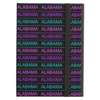 Pretty Tri-Colored Alabama Case For iPad Air