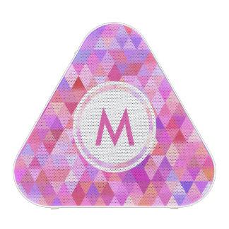 Pretty Triangle Geometric Pattern Initial Speaker