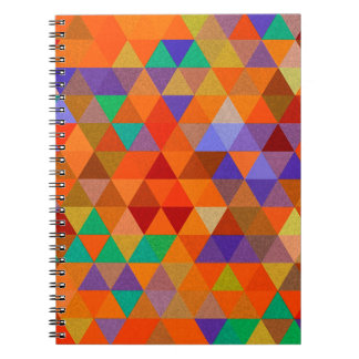 Pretty Triangle grunge pattern I + your ideas Notebook