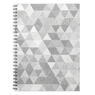 Pretty Triangle grunge pattern II + your ideas Notebooks