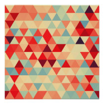 Pretty Triangle pattern II   your ideas Poster