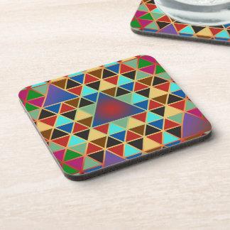 Pretty Triangle pattern III + your ideas Drink Coaster