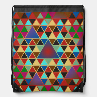 Pretty Triangle pattern III + your ideas Backpack