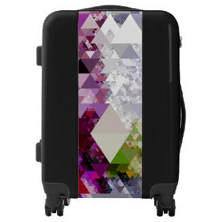 Pretty Triangle pattern IV + your ideas Luggage