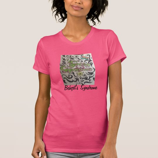 Pretty tribal with back vertical wording T-Shirt