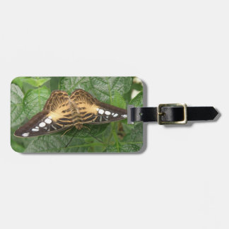 Pretty Tropical Clipp Butterfly Custom Luggage Tag