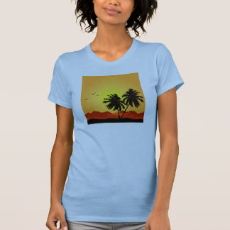 Pretty Tropical Sunset Tank Top