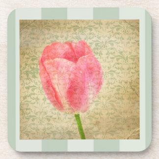 Pretty Tulip Beverage Coaster