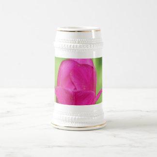 Pretty Tulips Beer Stein Coffee Mugs