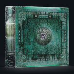 """Pretty Turquoise Ancient Tome Medieval Magic Book Binder<br><div class=""""desc"""">.</div>"""