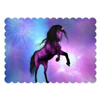 Pretty Unicorn Invitation