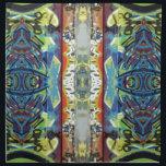 "pretty vertical double cloth napkin<br><div class=""desc"">manipulated photo of graffiti,  taken by designer</div>"