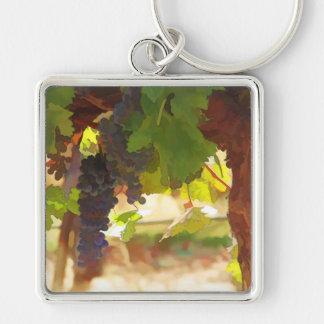 Pretty Vineyard Key Chain