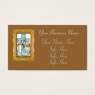 Pretty Vintage Angels Business Card