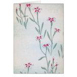 Pretty Vintage Blossoms Card