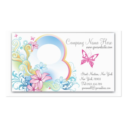 Pretty vintage butterfly business cards zazzle for Butterfly business cards