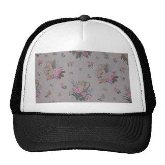 Pretty Vintage Floral Trucker Hat