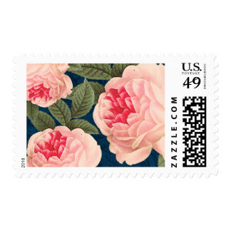 Pretty Vintage Flowers Postage