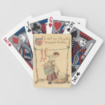 Pretty Vintage Lady Playing Cards