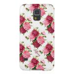 Pretty Vintage Peony Floral Samsung Galaxy S5 Case