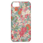 Pretty Vintage Roses Case For iPhone 5C