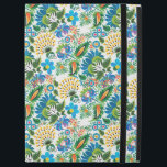 "Pretty Vintage Russian Khokhloma Floral Pattern iPad Pro 12.9&quot; Case<br><div class=""desc"">Vintage Russian folk-art is rendered in contemporary shades of green,  blue,  and orange in this Hohloma (Kholkhloma) inspired pattern,  a Russian style and national ornament,  known for its vivid flower patterns.</div>"