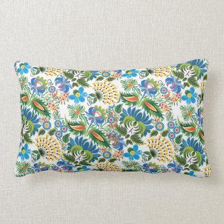 Pretty Vintage Russian Khokhloma Pillow