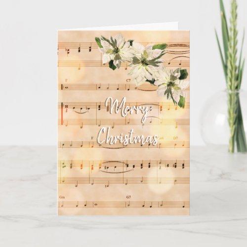 Pretty Vintage Sheet Music Merry Christmas