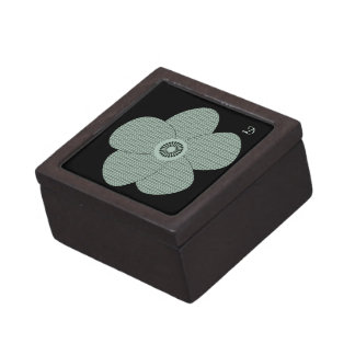 Pretty Vintage Style Patterned Anemones Pastels Gift Box
