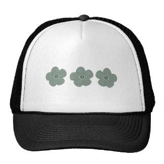 Pretty Vintage Style Patterned Anemones Pastels Trucker Hat