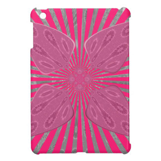 Pretty Vivid Pink Beautiful amazing edgy cool art Cover For The iPad Mini