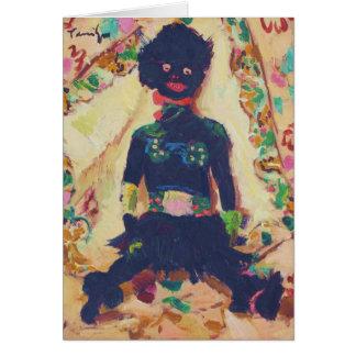 Pretty Voodoo Doll Card