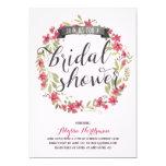 Pretty Watercolor Florals   Bridal Shower 5x7 Paper Invitation Card