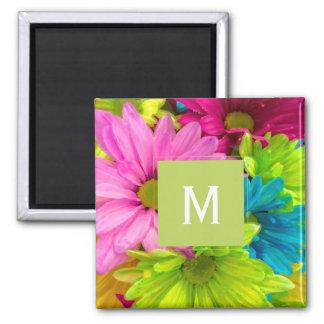 Pretty Watercolor Flowers Bouquet Magnet