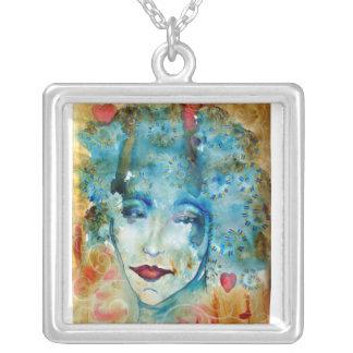 pretty watercolor pendants