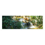 Pretty Waterfall Bookmark Double-Sided Mini Business Cards (Pack Of 20)