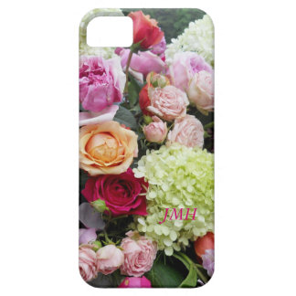 Pretty Wedding Bouquet of Flowers Optional Name iPhone SE/5/5s Case