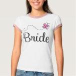 Pretty Wedding Day Bride T-shirt