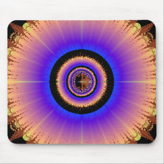 Pretty Wheel of Colors Mouse Pad