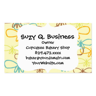 Pretty Whimsical Dragonfly Line Art Butterflies Double-Sided Standard Business Cards (Pack Of 100)
