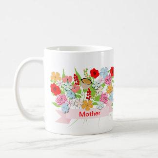 Pretty Whimsy Garden Flowers Coffee Mug