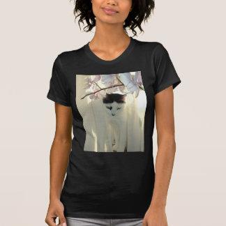 Pretty White Cat T-Shirt
