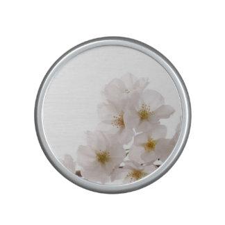 Pretty White Cherry Blossoms Speaker