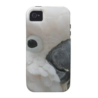 Pretty White Cockatoo iPhone 4 Cover