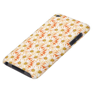 Pretty White Daisies Floral Pattern iPod Touch Cover