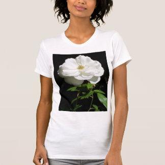 Pretty White Rose T-shirts