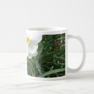 Pretty White Spring Flowers CricketDiane Mug