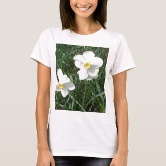 Pretty White Spring Flowers CricketDiane T-Shirt