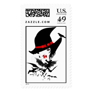 Pretty Wicked Postage Stamps